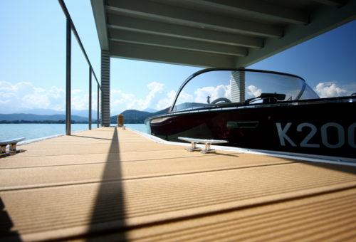 Bootsunterstand Krumpendorf Bild 1