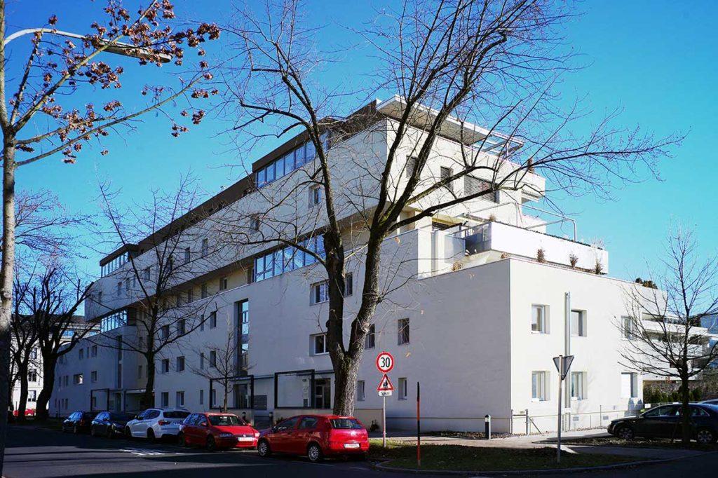 Architekt Omansiek - Architekturbüro Klagenfurt Kärnten BEBAUUNG STERNECKSTRASSE Bild 1