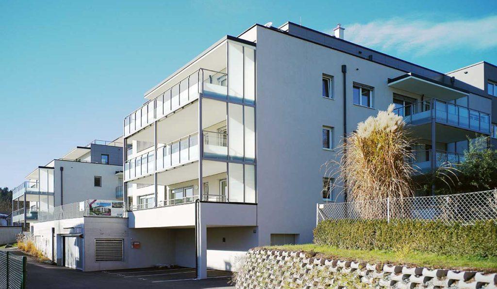 Architekt Omansiek - Architekturbüro Klagenfurt Kärnten WOHNPROJEKT am Kirchenweg in Krumpendorf Bild 4