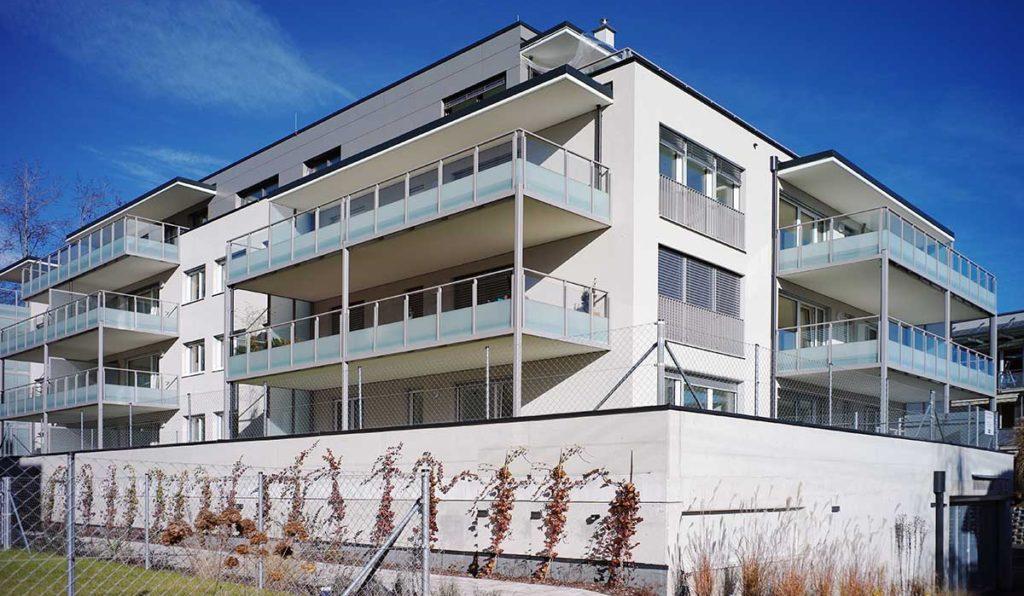 Architekt Omansiek - Architekturbüro Klagenfurt Kärnten WOHNPROJEKT am Kirchenweg in Krumpendorf Bild 3