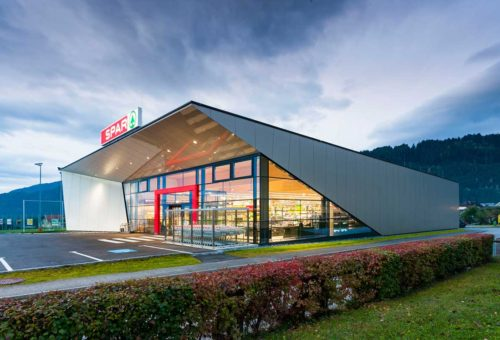 Architekt Omansiek - Architekturbüro Klagenfurt Kärnten NEUERRICHTUNG SPAR SM BAD ST. LEONHARD Bild 2