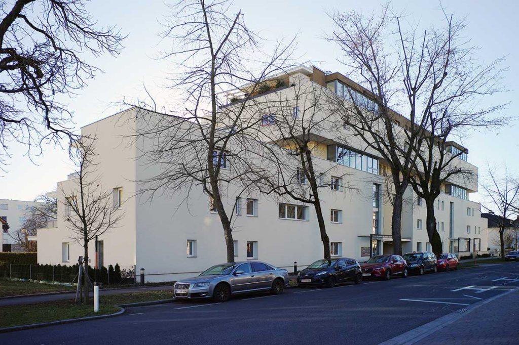Architekt Omansiek - Architekturbüro Klagenfurt Kärnten BEBAUUNG STERNECKSTRASSE Bild 3