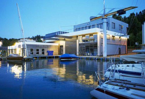 Architekt Omansiek - Architekturbüro Klagenfurt Kärnten Bootswerft Schmalzl Bild 3