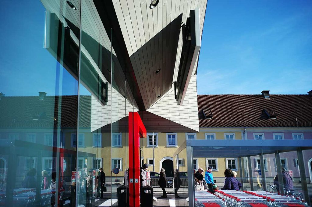 Architekt Omansiek - Architekturbüro Klagenfurt Kärnten Spar Maria Platzer Straße Bild 4