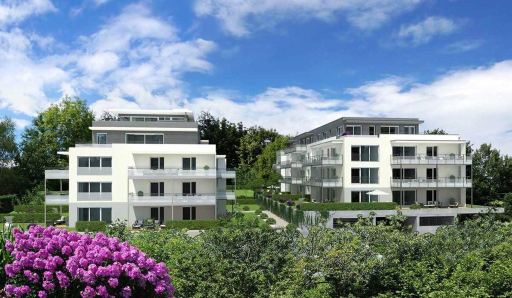 Architekt Omansiek - Architekturbüro Klagenfurt Kärnten WOHNPROJEKT am Kirchenweg in Krumpendorf Bild 2