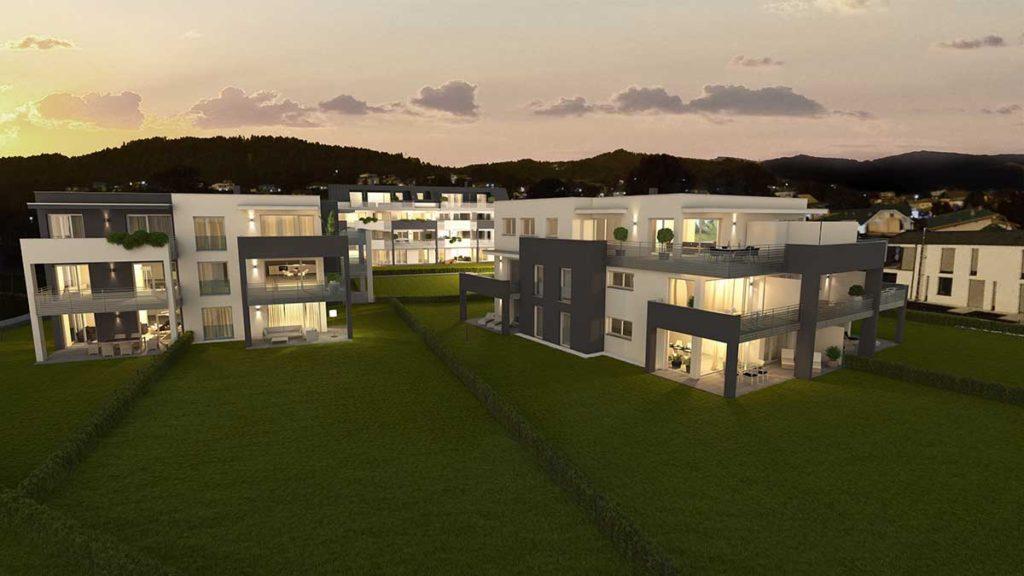 Architekt Omansiek - Architekturbüro Klagenfurt Kärnten Wohnpark Pörtschach Bild 1