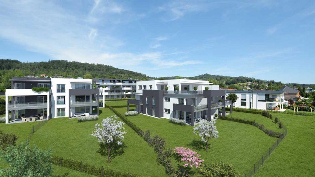 Architekt Omansiek - Architekturbüro Klagenfurt Kärnten Wohnpark Pörtschach Bild 2