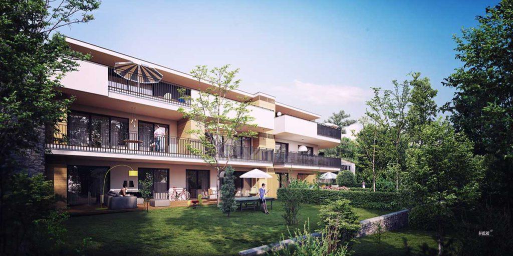 Architekt Omansiek - Architekturbüro Klagenfurt Kärnten WOHNPROJEKT / Kreuzbergl – Waldhofweg 10 - Bild 2