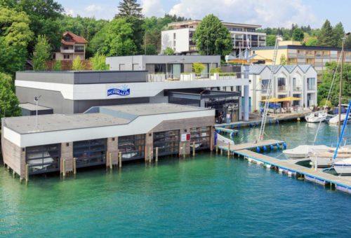 Neuerrichtung Bootswerft Schmalzl
