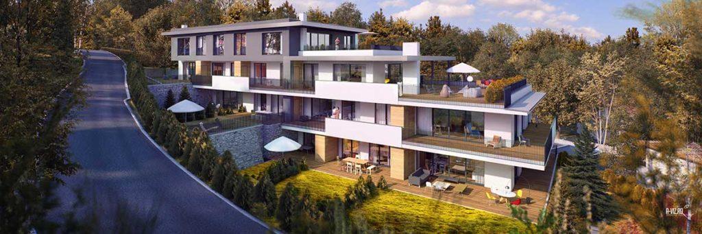Architekt Omansiek - Architekturbüro Klagenfurt Kärnten Wohnprojekt Riedergarten St. Primusweg Bild 2