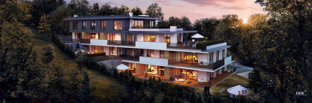 Architekt Omansiek - Architekturbüro Klagenfurt Kärnten Wohnprojekt Riedergarten St. Primusweg Bild 3